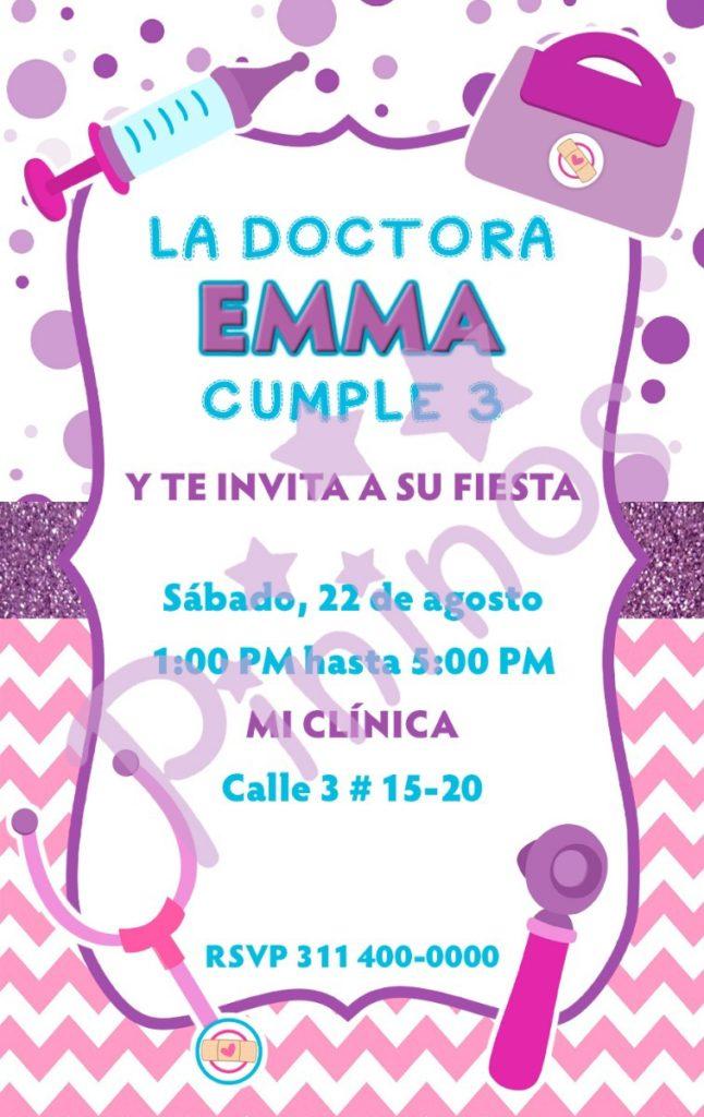 Juguetes De Cumpleaños Cotillon Ideas Doctora Y 1JlFcK